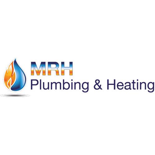 MRH Plumbing and heating logo