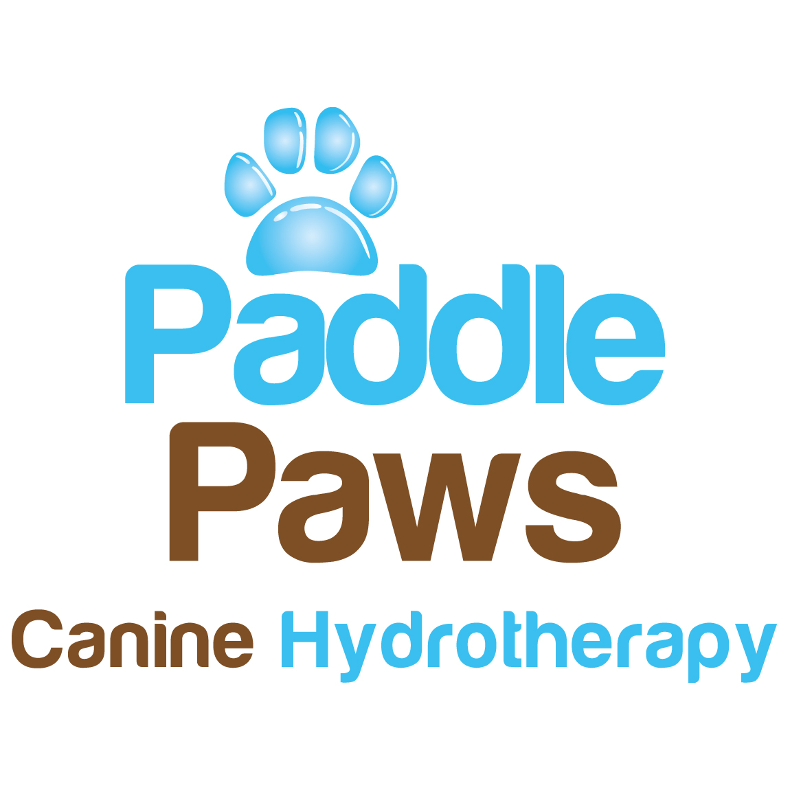 Paddle Paws logo