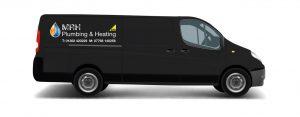 black van livery mrh
