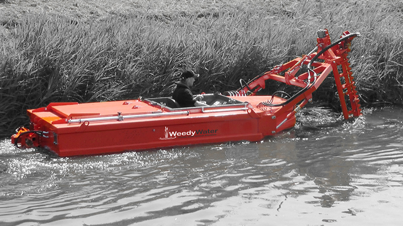weedy water boat graphics