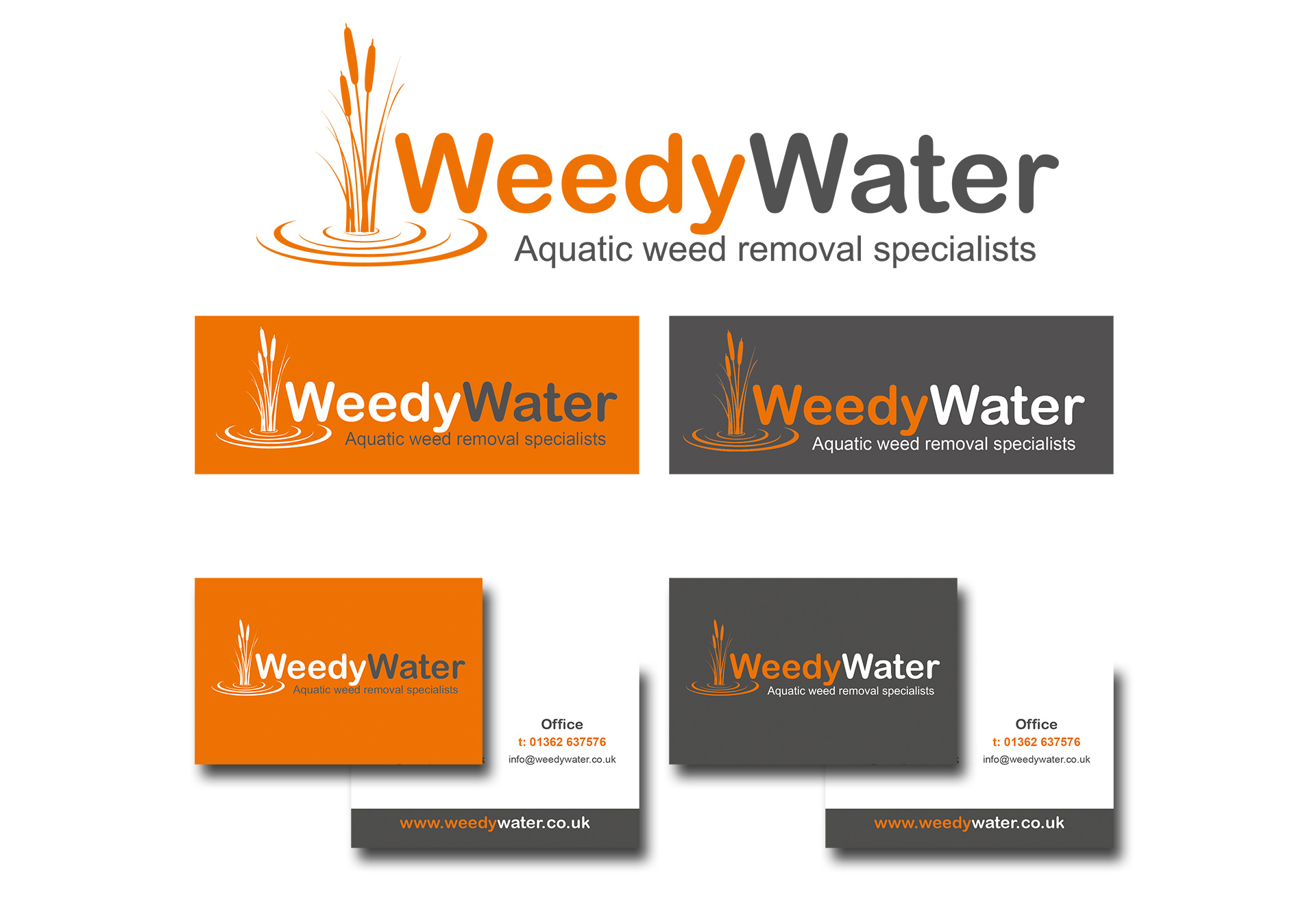 logo design weedy water