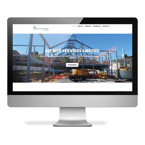 AJF Website design and build